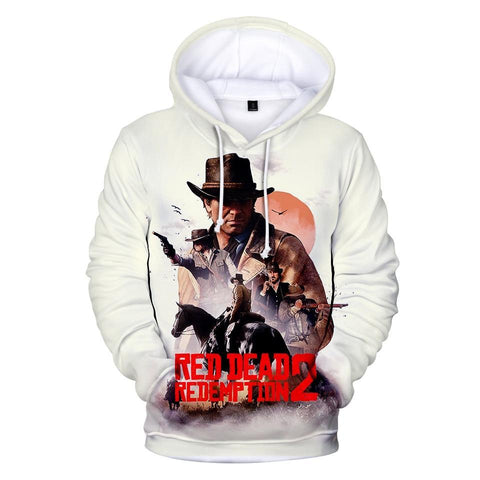 Wild West - Red Dead Redemption 2 Cotton Hoodie