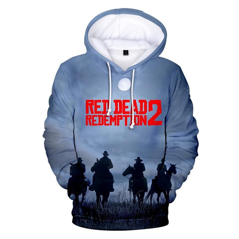 Nightfall - Red Dead Redemption 2 Cotton Hoodie