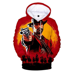 No Suffer - Red Dead Redemption 2 Cotton Hoodie