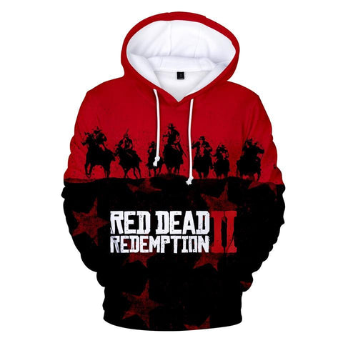 The Frontier - Red Dead Redemption 2 Cotton Hoodie