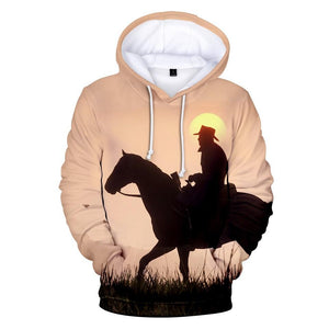Wild Ride - Red Dead Redemption 2 Cotton Hoodie