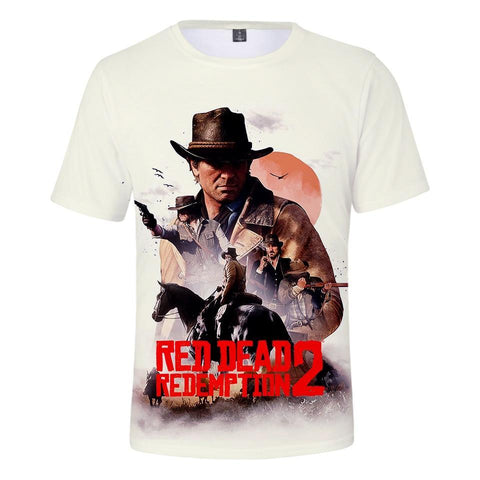 Wild West - Red Dead Redemption 2 Cotton T-Shirt
