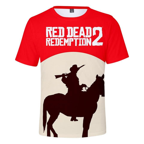 Redeemed - Red Dead Redemption 2 Cotton T-Shirt