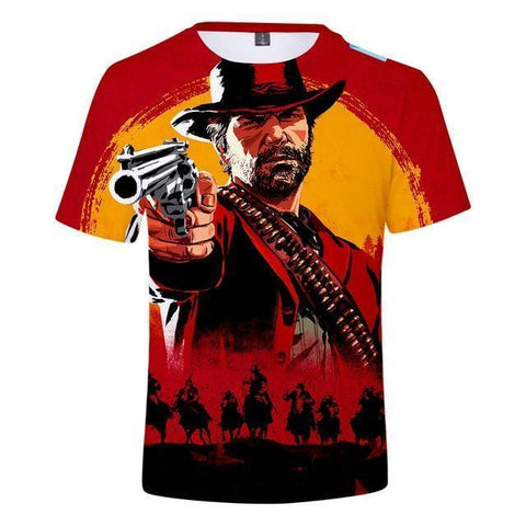No Suffer - Red Dead Redemption 2 Cotton T-Shirt