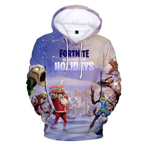 Fortnite Holidays - Premium Fortnite Christmas Hoodie