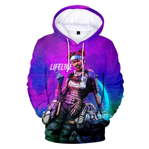 Lifeline - Apex Legends Premium GameCoral Hoodie