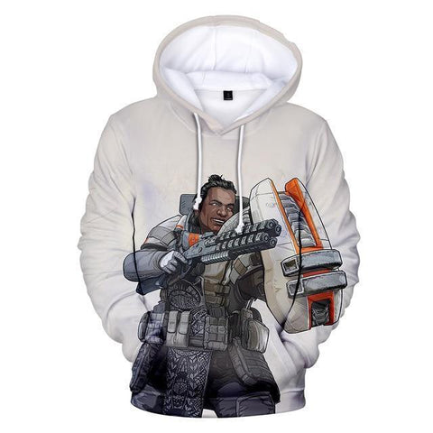 Gibraltar - Apex Legends Premium GameCoral Hoodie