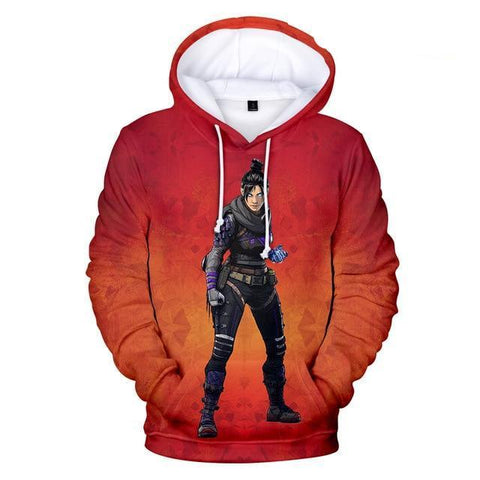 Wraith - Apex Legends Premium GameCoral Hoodie