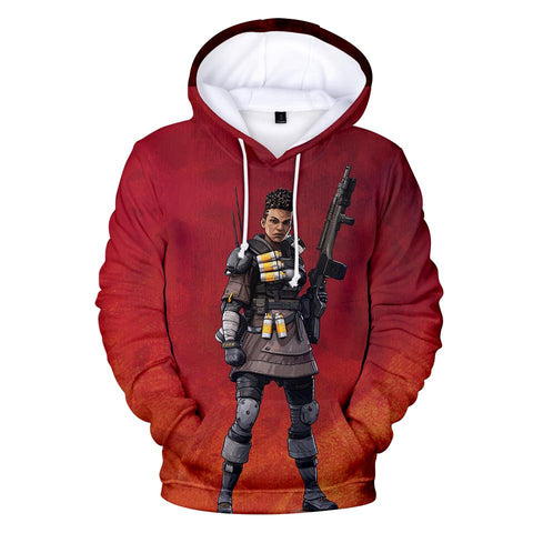 Bangalore - Apex Legends Premium GameCoral Hoodie