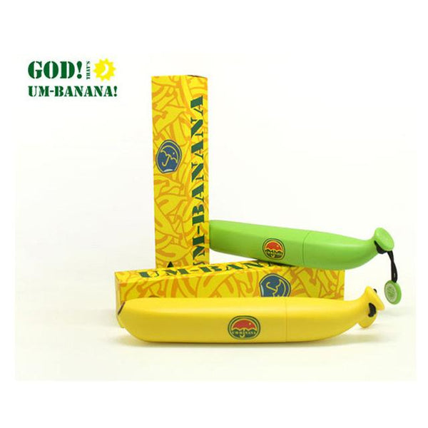 Cute Banana Folding Umbrella