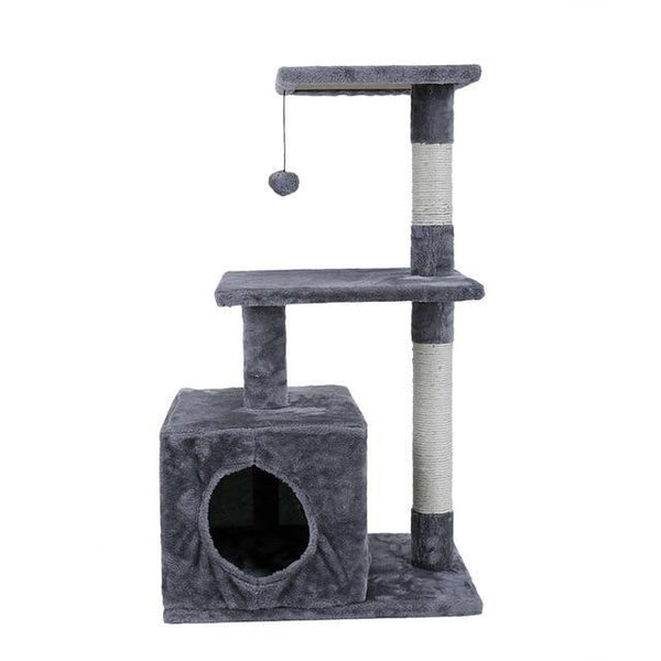 Cat Tree Tower Condo Furniture Scratch Post Cat Jumping Toy with Ladder