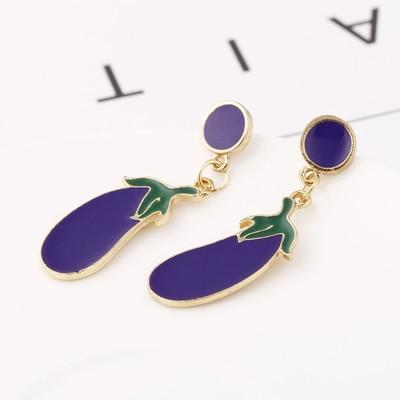 Fashion Fruit Vegetable Drop Earrings