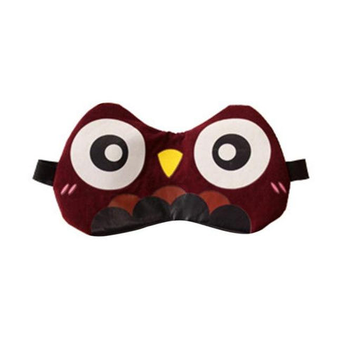 Cute Animal Eye Mask Soft Padded