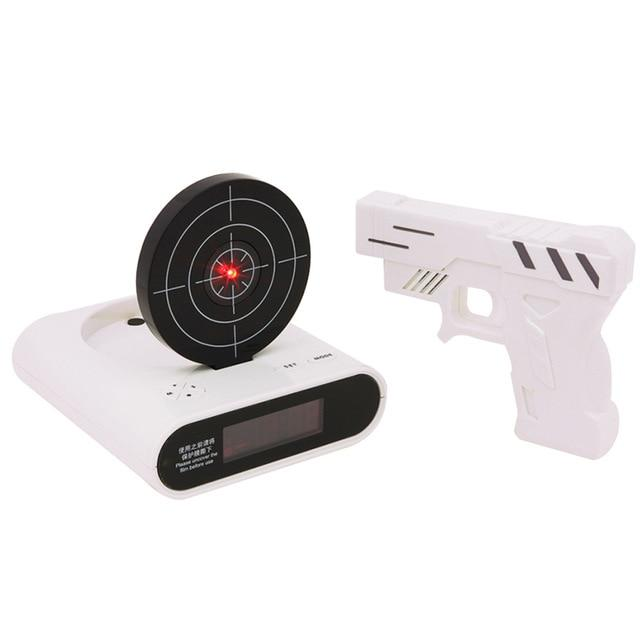 Digital Shooting Gun Alarm Desktop Clock