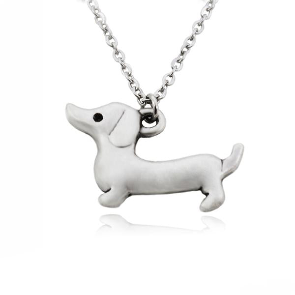 Dachshund Sausage Dog Pendant Necklace
