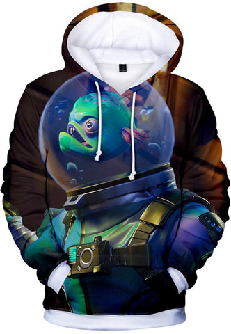 Fortnite Hoodie 3D Print Hoodie Novelty Teen Sweatshirt Float Leviathan