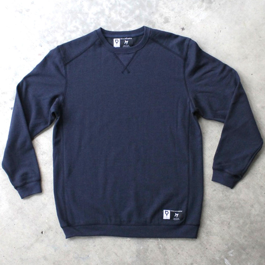 Deep Blue Crewneck