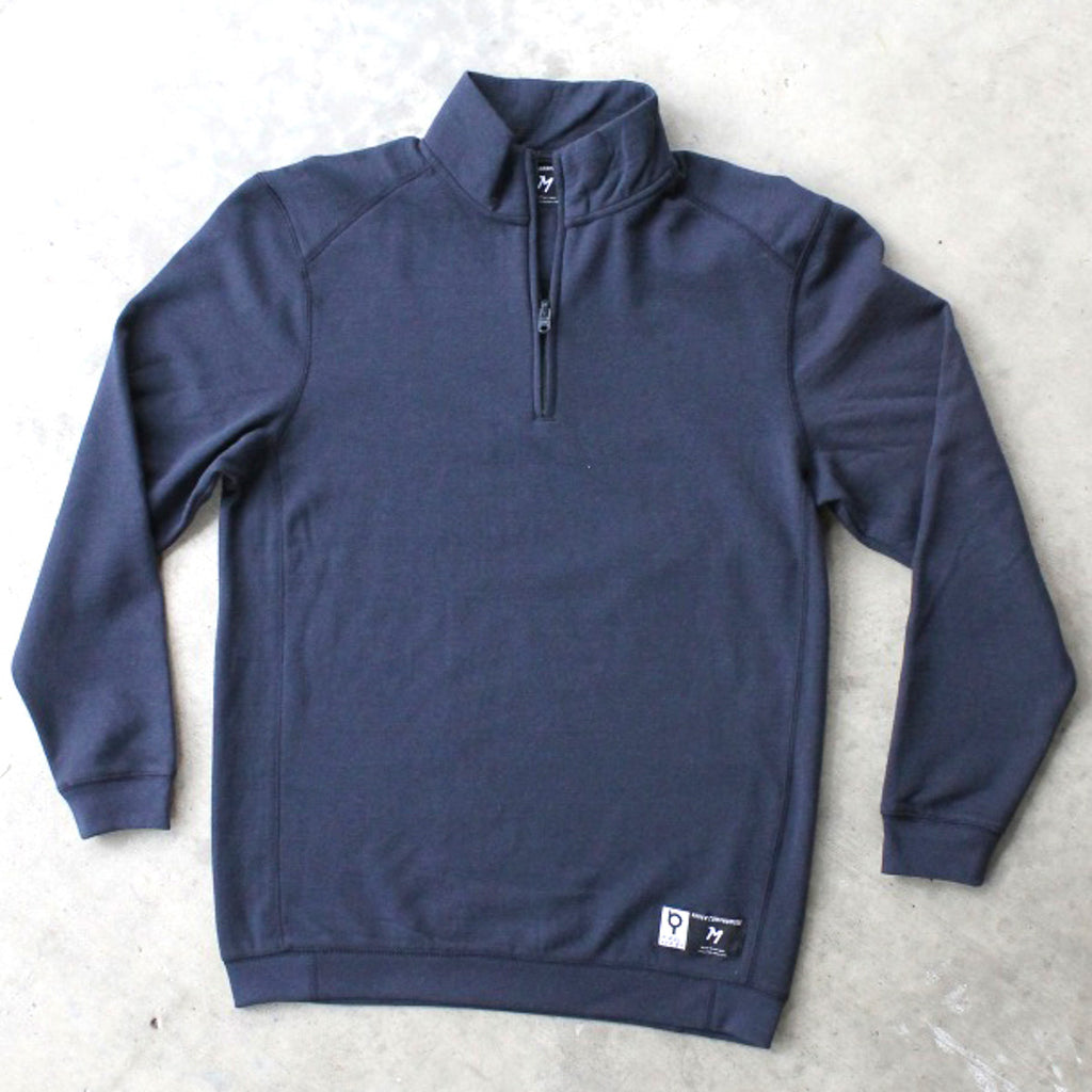 Deep Blue QuarterZip Pullover