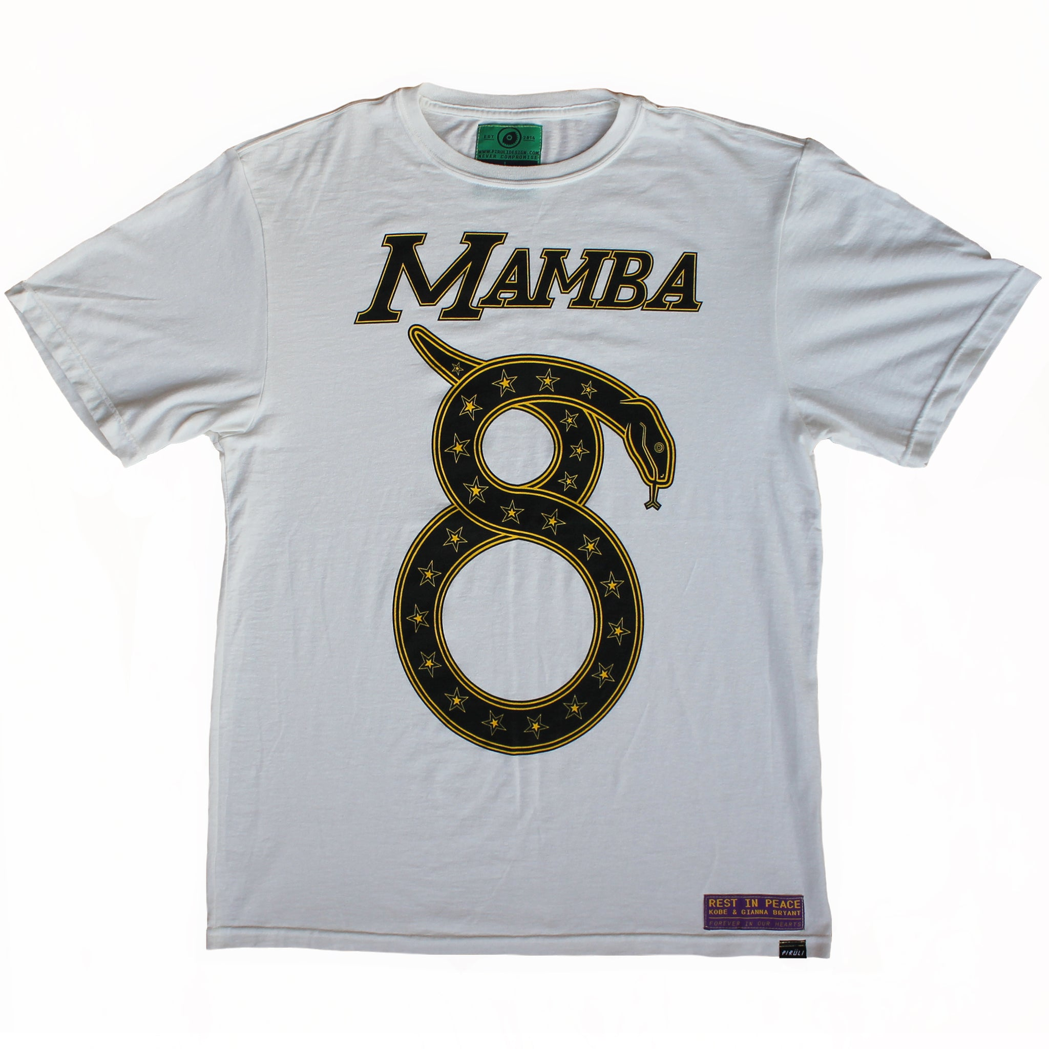 Cream White Mamba Tee