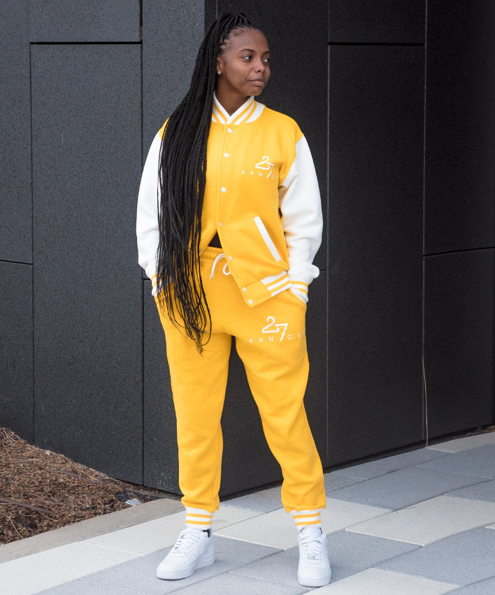 Yellow Adult Varsity Set