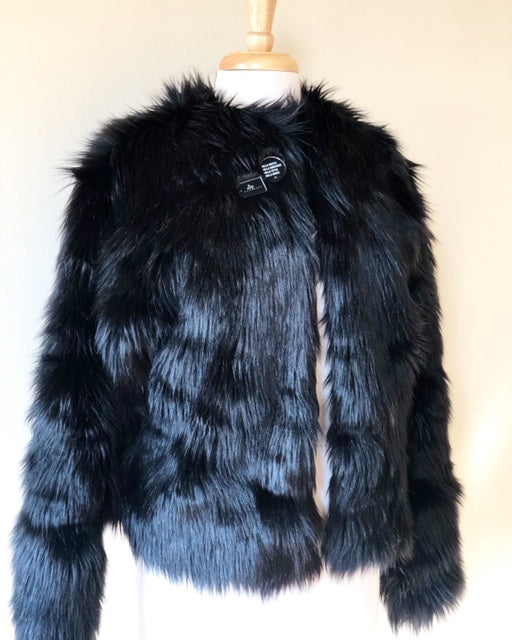 Custom Faux Fur Waist Jacket