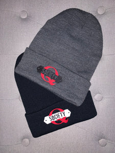 Embroidered Q Society Beanie