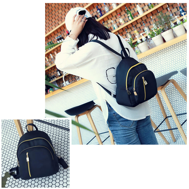 1 PCS School Mini Bag Rucksack Drawstring Backpack Travel Fashion Girls Shoulder Bags