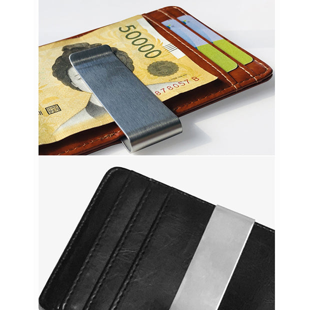 1 Pcs Men Wallet Purse Short Design PU Leather Solid Color Soft For Coin Money Cards Best Sale- LXX9