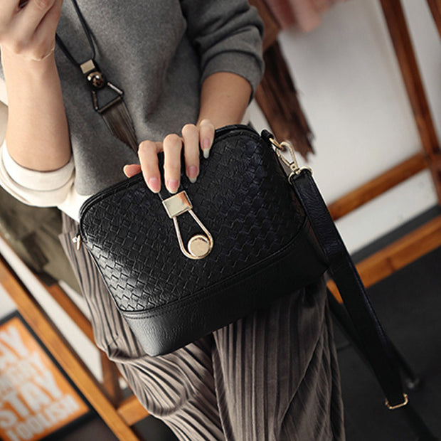 1 Pcs Women Lady Shoulder Crossbody Bag PU Leather Fashion For Mobile Phone Travel LBY2018