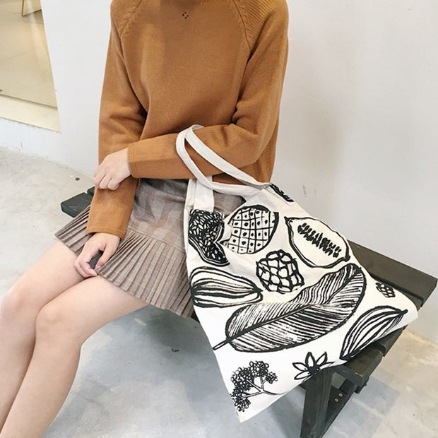 1 Pcs Women Lady Student Shoulder Bag Printing Fashion For Travel Mobile Phone LXX9