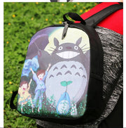 1 Piece 3D Totoro Printing Travel Softback Mochila Schoolbag Space Notebook Girl Backpack
