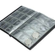 15.5*11.5cm New Coin Storage Clips Eco-Friendly PVC Unisex World Coin Stock Organizer Wallets 6A1219