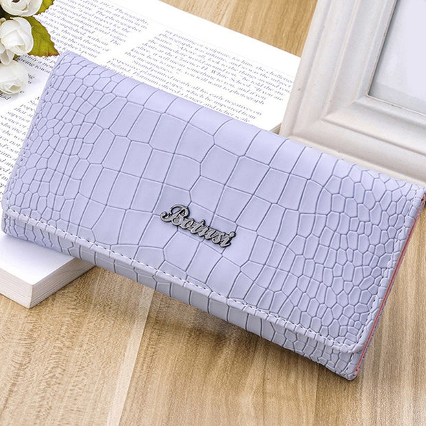 1Pc Women Korean Style Wallets Fashion Women Stone Pattern Coin Purse Long Wallet Card Holders Ladies Clutch Bag Portemonnee