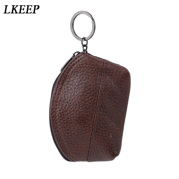 1pc Leather Semicircle Small Wallet Women Coin Bag Womens Wallets And Purses Leather Wallet Small Clutch Bag