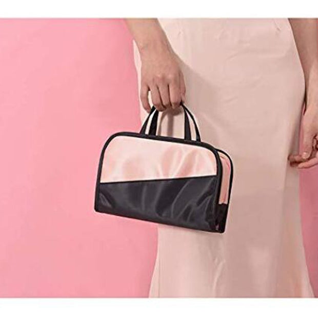 998fbd3d62c9 2 In 1 Cosmetic Bag & Case Portable Carry On Travel Toiletry Bag ...