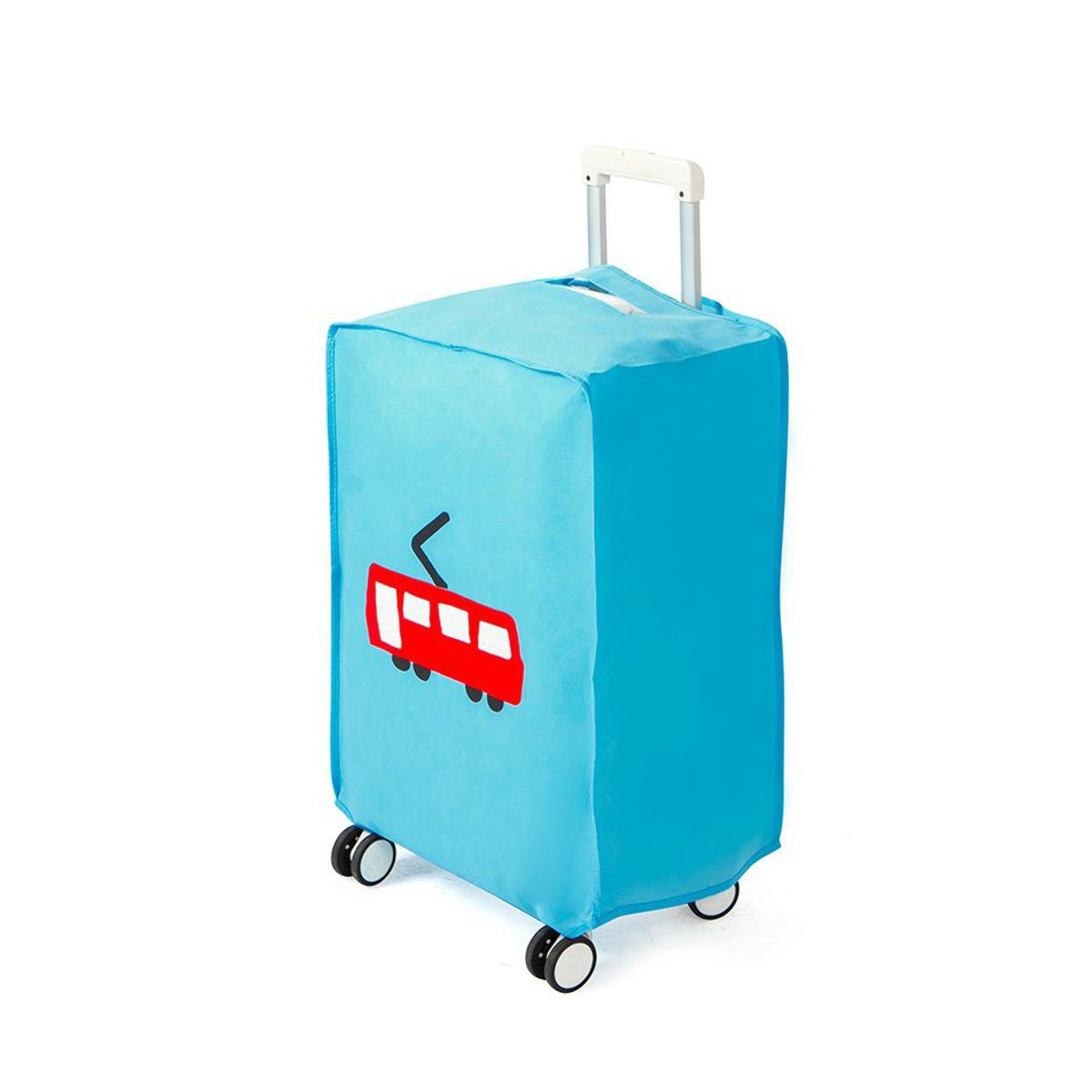 """20/"""" ~28"""" Travel Luggage Cover Trolley Suitcase Protector Nonwoven Dust Proof Bag"""