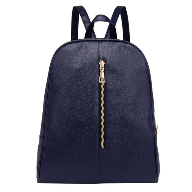 2018 NEW Women's Backpack Multi-function Bag Woman Fashion Leather Backpack Female Preppy Style Zipper Mochila School A0621#30