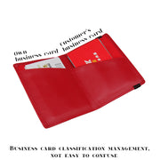 2018 Travel Business Card Holder Real Genuine Leather ID Credit Cards Holder Organizer Wallet Women Men Cardholder Design Purse