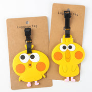 2018 Trolley Japan Docomo Parrot For Brothers Crispy Fried Chicken Cartoon Cute Luggage Tag Travel Ornaments Checked Cardholder