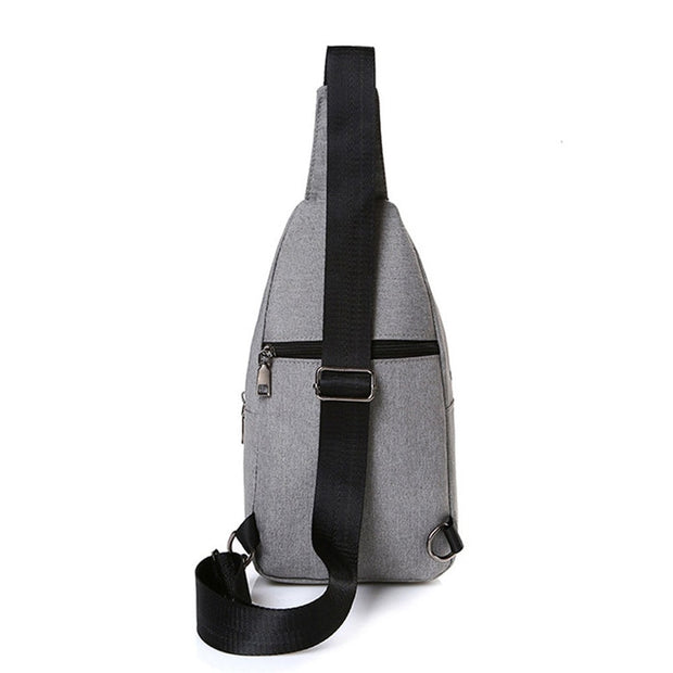 2019 Sports Casual Canvas Unbalance Cross-body Sling Shoulder Multifunction Men Cross-body Bag Gym Fitness Bags For Men 2018