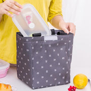 2019 Thermal Insulated Children Kid Lunch Bag Waterproof Oxford Lunch Bag Handbag For Men Women Food Picnic Lunch Box