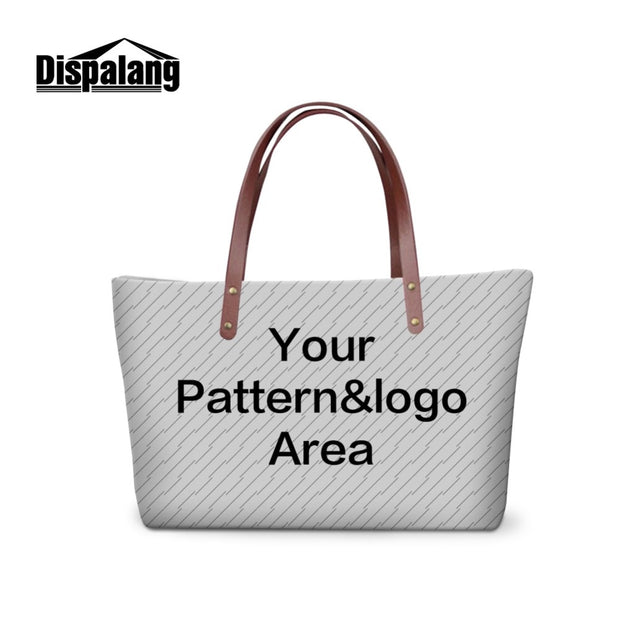 3D Custom Pretty Pattern For Women Large Tote Messenger Bag Personalized Shoulder Bags For Teen Girls Female Hand Bag Organizer