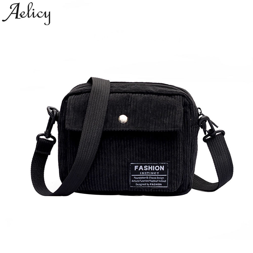 347aba7ffb63 Aelicy Bag Canvas Women Girls Shoulder Bag Lady Zipper Cartoon Letter Retro  Crossbody Bags Female Leisure Messager Shopping Bag