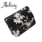 Aelicy Floral Leather Shoulder Bag Fashion Handbag Solid Women Bag Bolsa Feminina Bags Handbags Women Brands Tote Bag
