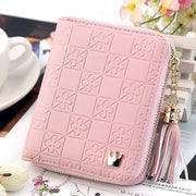 Altbest Solid Women's Tassel Cute Fashion Purse Zip Wallet Coin Card Holder Phone Card Clutch Porte Monnai Femme Bourse Lady#y50