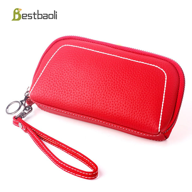 Bestbaoli Genuine Leather Women Wallet High Quality Luxury Handbags Women Bags Designer Small Wallets And Purses Carteras Cuzdan