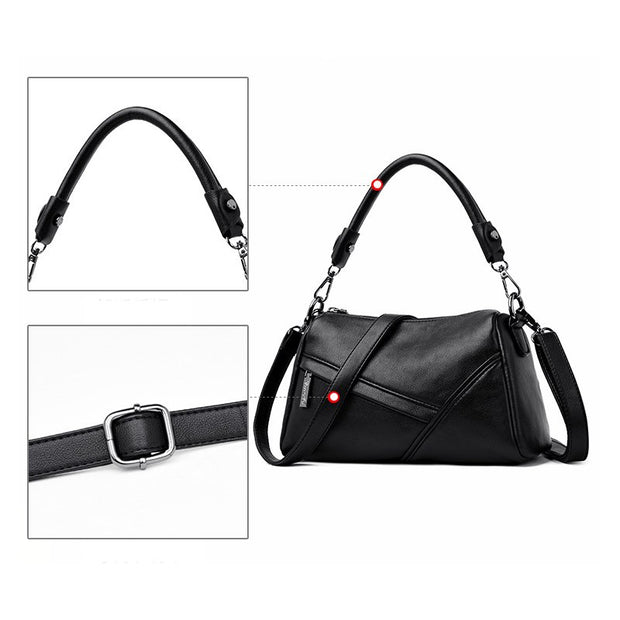 268766583786 Bonsacchic PU Leather Women s Shoulder Bag Small Black Female Bags Handbags  Luxury Designer Cross Body Bags
