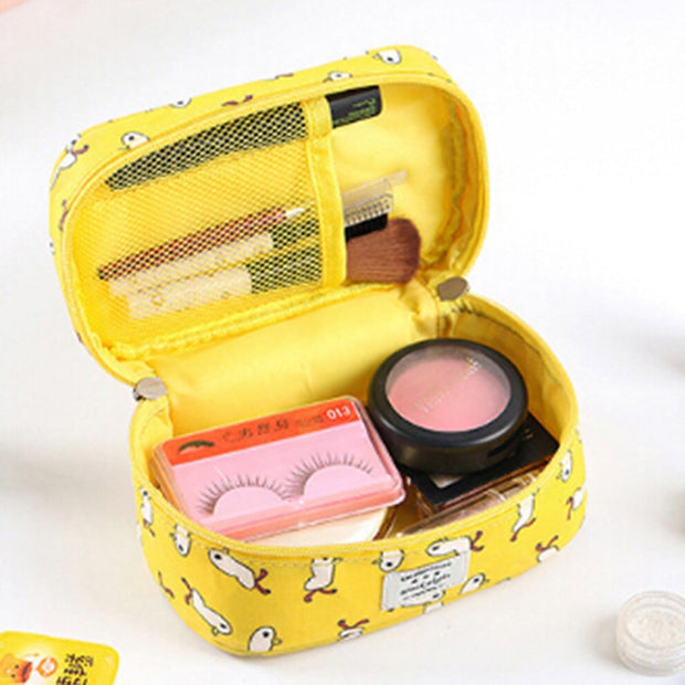 Cartoon Cute Printing Travel Toiletry Kit Multifunction Bag Bathing Waterproof Pouch Organizer Cosmetic Bag Cases