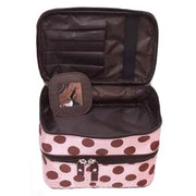 Chic Lady's Dot Makeup Tool Storage Toiletry Bags