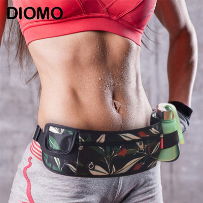 DIOMO 2018 Fashion Waist Bags Waist Pack Women Cell Phone Pocket Purse,Sports Gym Bag Fanny Pack Men
